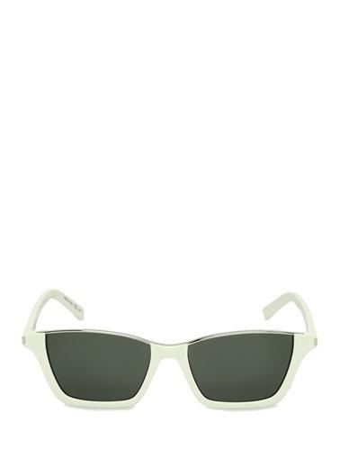 Saint Laurent Güneş Gözlüğü Beyaz
